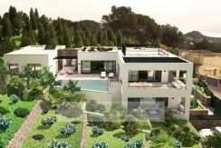 Santa Ponsa – Moderne Villa mit Meerblick, Fertigstellung 04/2016