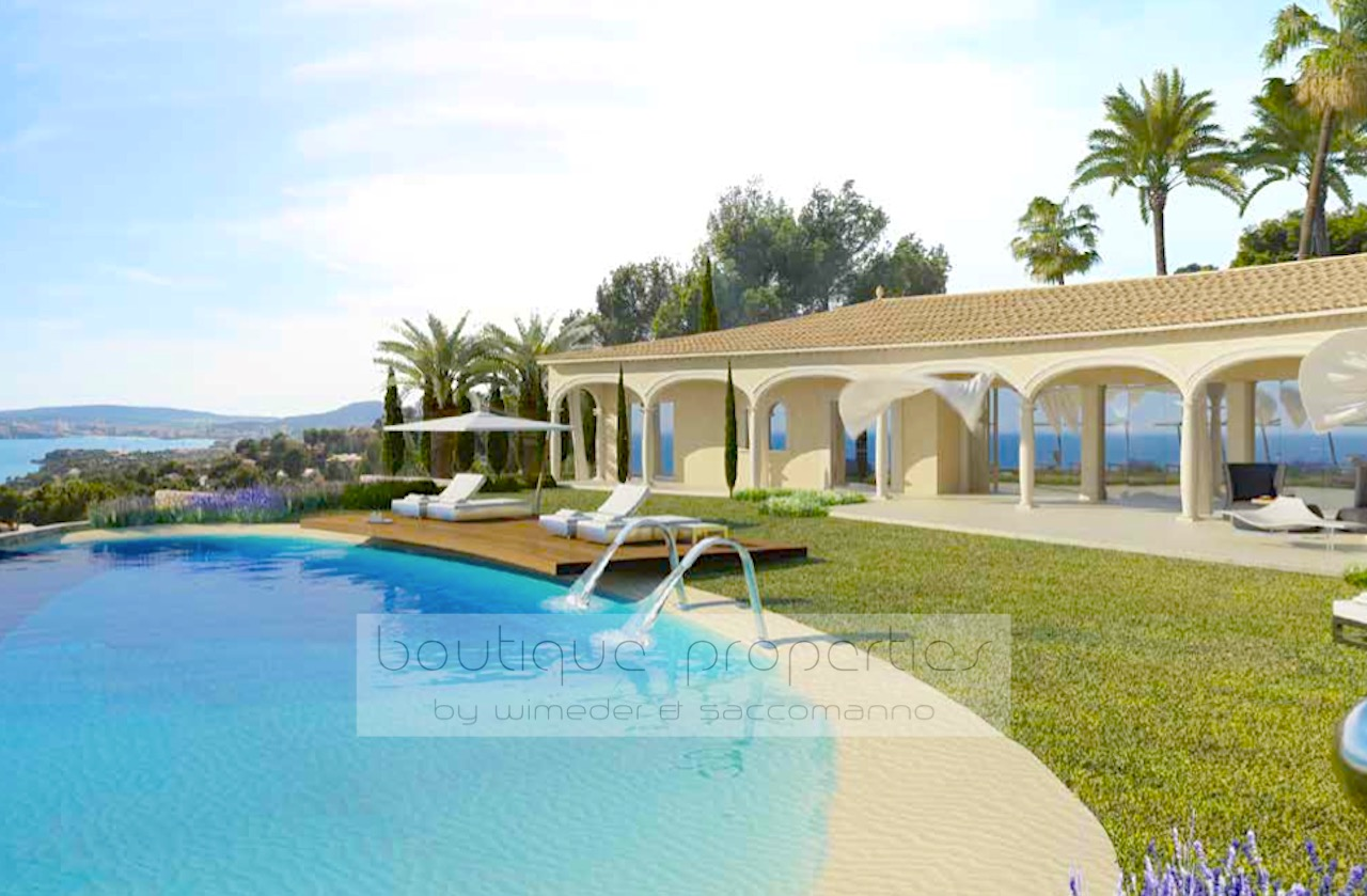 Costa d'en Blanes – Mediterran-Moderne Luxus Villa mit 180 Grad Meerblick
