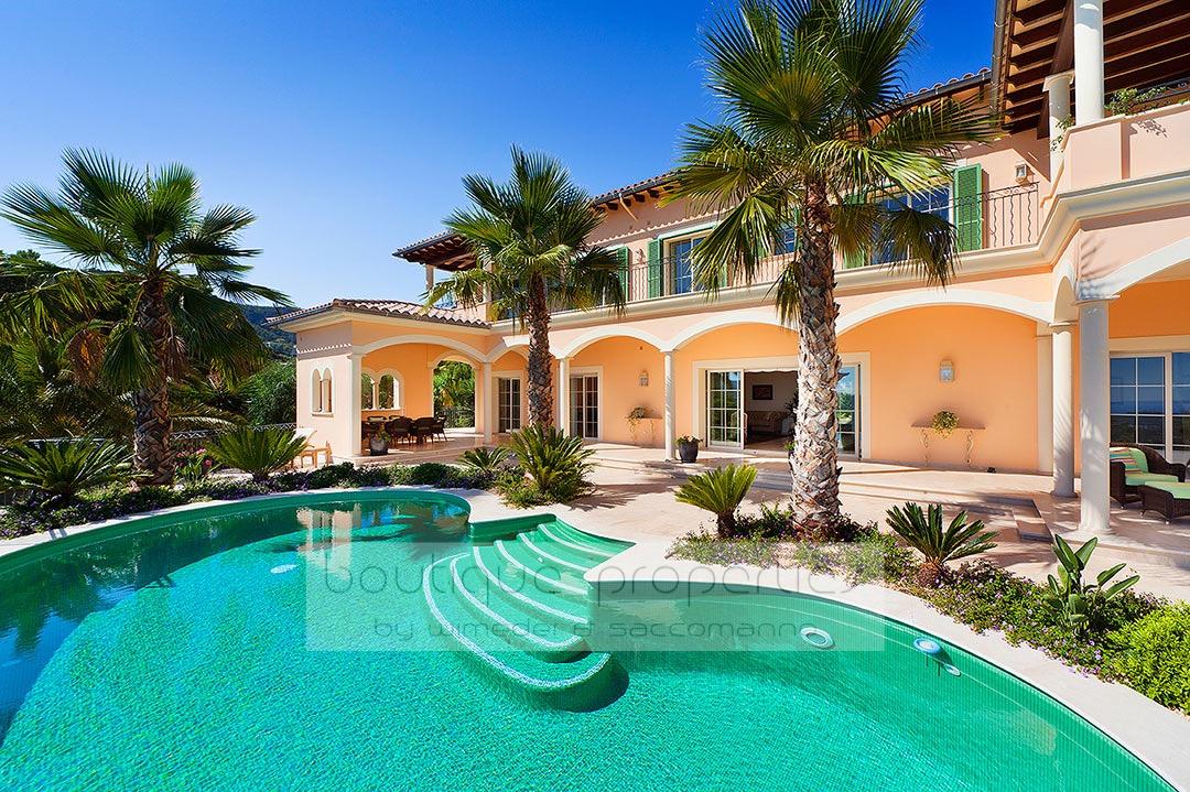 Son Vida – Modern-Klassische Villa mit Panoramablick über Palma & das Meer