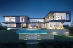 Southhampton, NY, USA – Modernes Architektur Meisterwerk