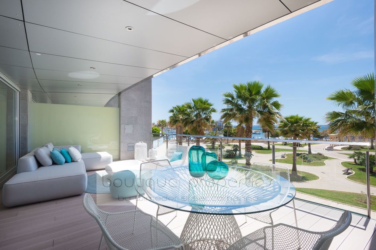 Palma de Mallorca – Wohnluxus in erster Meereslinie