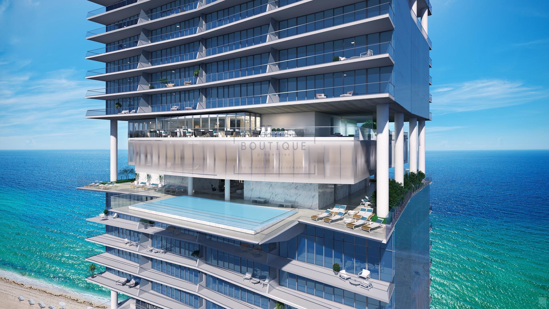 Miami, Florida, USA – Luxus Residenzen im Ocean Tower