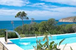 Santa Ponsa – Familenfreundliche moderne Villa mit Meerblick in Santa Ponsa